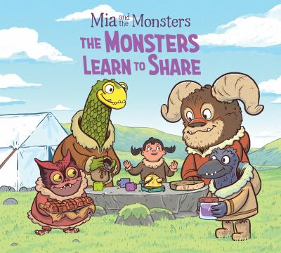 Book cover of MONSTERS LEARN TO SHARE