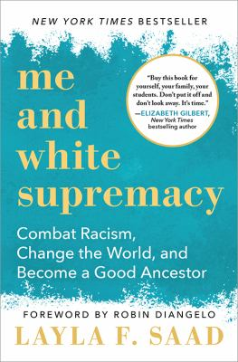 Book cover of ME AND WHITE SUPREMACY