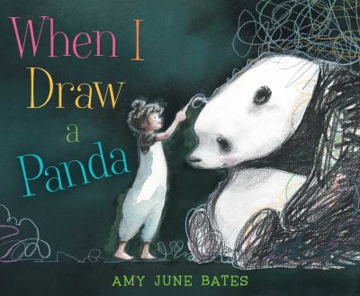 Book cover of WHEN I DRAW A PANDA
