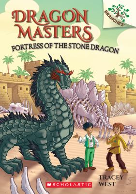 Book cover of DRAGON MASTERS 17 FORTRESS OF THE STONE