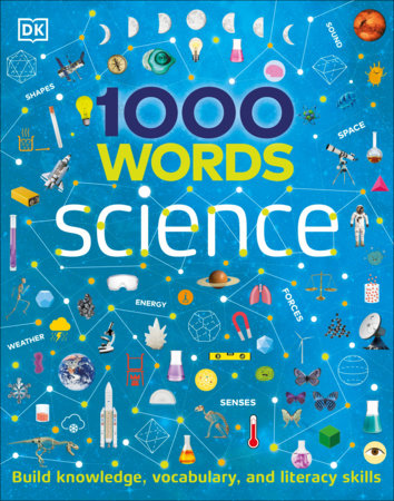 Book cover of 1000 WORDS - SCIENCE