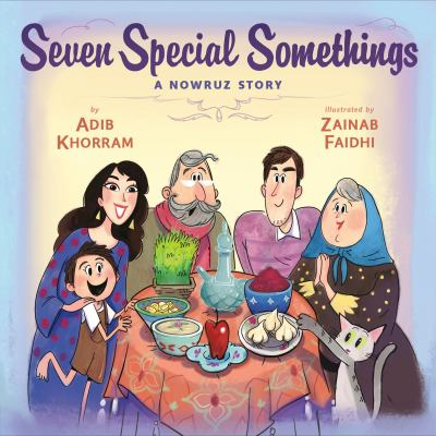 Book cover of 7 SPECIAL SOMETHINGS - A NOWRUZ STOR