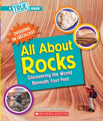 Book cover of ALL ABOUT ROCKS