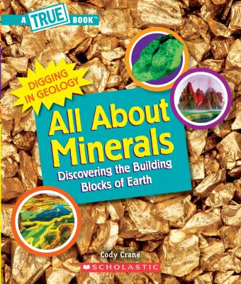 Book cover of ALL ABOUT MINERALS