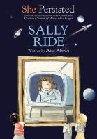 Book cover of SHE PERSISTED - SALLY RIDE