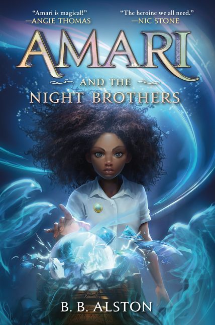Book cover of AMARI & THE NIGHT BROTHERS
