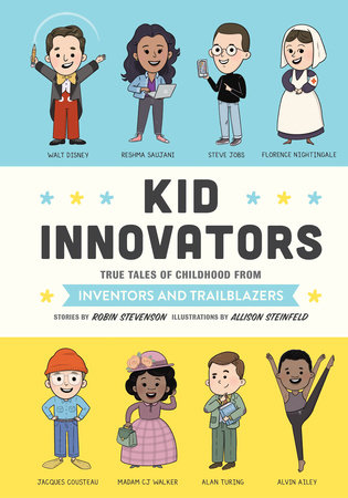 Book cover of KID INNOVATORS