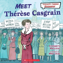 Book cover of MEET THÉRÈSE CASGRAIN