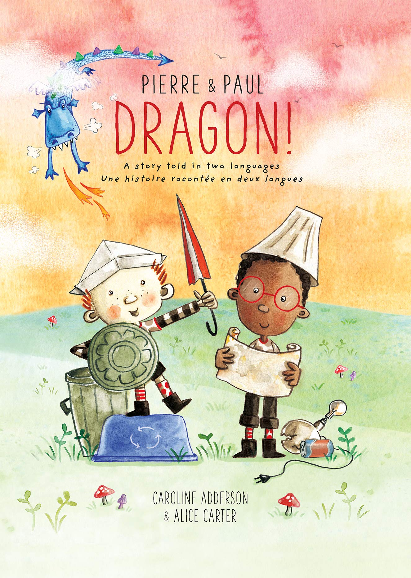 Book cover of PIERRE & PAUL - DRAGON