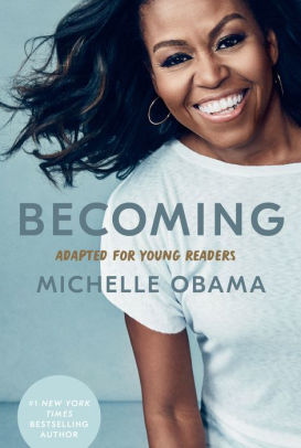Book cover of BECOMING - YOUNG READERS EDITION