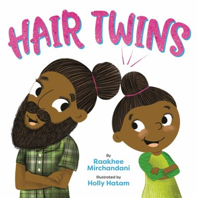 Book cover of HAIR TWINS